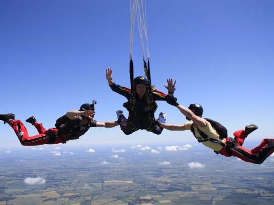 Skydive Near Me for Step by Step - Charity Event